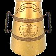 Rare Large Brass Loving Cup, Henry IV,Urbis Palladium Gentis, Pau France