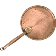 Mid 19th Century Copper Pan with Lid