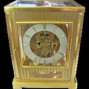 1950's Jaeger Le Coultre Tuxedo Atmos Clock