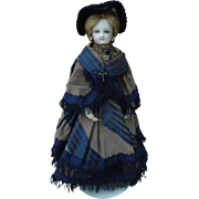 """Petite Jumeau French Fashion Antique Doll"""