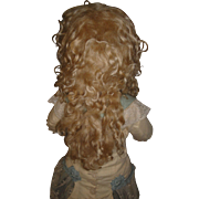 """Blonde Mohair Extension Wig  - Size 14 Inch"""
