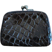 """Vintage/Antique Reptile Skin Purse"""