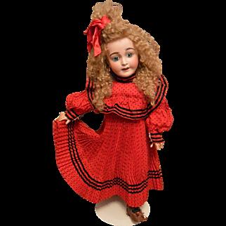 """Wonderful Lanternier 'Favourite' Character Antique Doll"""