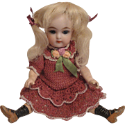 """Sweet 6 inch Kammer & Reinhardt Doll with Five Piece Body"""