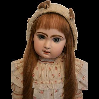 """""""Antique Mohair Doll Bonnet"""""""