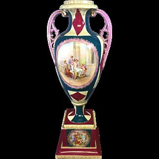 Very Large Antique European Vase