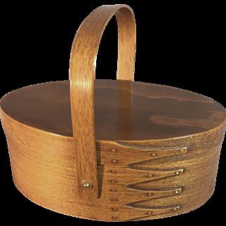 Vintage Shaker Sewing Basket