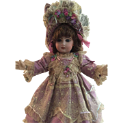 "Fabulous Couture Dress For 20"" French/German Doll"