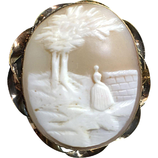 Victorian Shell Cameo-Gold Filled