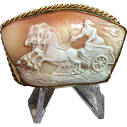 Vintage Cameo of Apollo and his Chariot