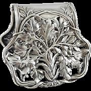 Alphonse Debain - Sterling Silver Asparagus tongs