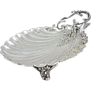 19th French Sterling Silver Cup / dish
