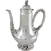 Alphonse Debain - 19th French Sterling Silver Coffee or Tea Pot