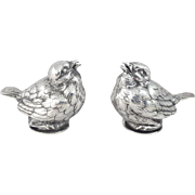 French Sterling Silver salt & pepper shaker