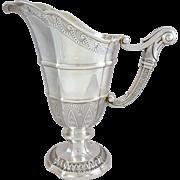 French Sterling Silver ewer / jug