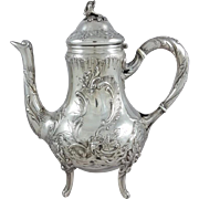19th French Sterling silver tea pot