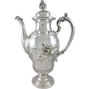 19th French Sterling silver tea or coffee pot