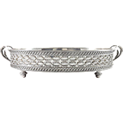 Odiot: 19th French Sterling silver centerpiece