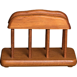 Mid-century Teak Napkin Holder