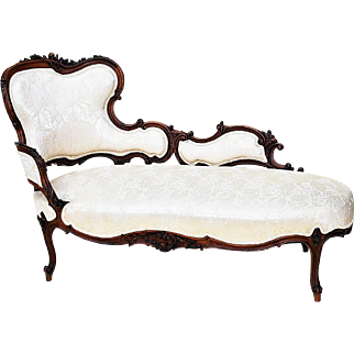 Late 19th Century French Louis XV Style Chaise Lounge