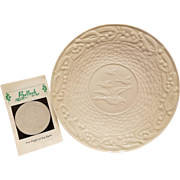 Belleek Christmas Plate Flight of the Earls 1972 with 6th Mark