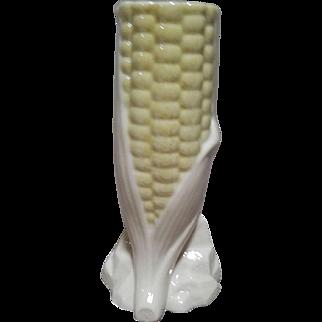 Belleek Corn Vase - 7th Mark - Gold - 1980-1993