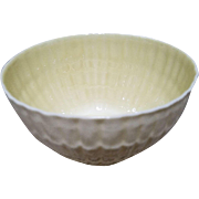 Belleek Soup Salad Bowl Limpet Pattern - 6th Mark - c 1965-1980