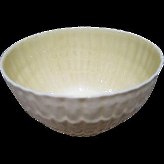 Belleek Soup Salad Bowl Limpet Pattern - 6th Mark - c 1965-1980