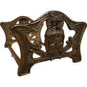 Antique Brass Plated Expandable Owl Book Rack Bookends by Judd Manufacturing