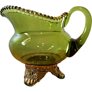 Early American Pattern Glass Creamers in the Colorado Pattern 1902-1903