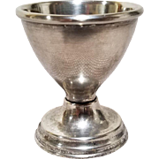 Silver Plated Vintage Egg Cup by SEBA