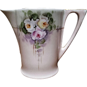 Favorite Bavaria Antique Creamer (Signed M L Baumgart) C/1910