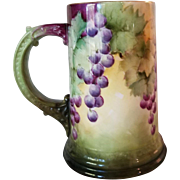 Signed Ceramic Art Company Belleek Stein Tankard
