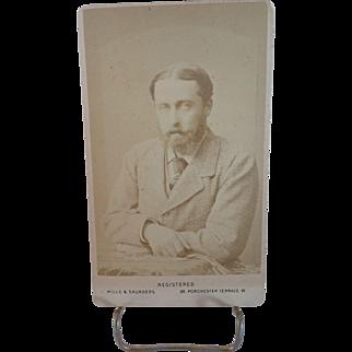 CDV of Alfred, Duke of Edinburgh-Queen Victoria's Second Sone