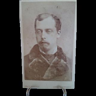 CDV Prince Leopold, Duke of Albany, c. 1870s