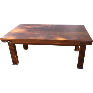 Quarter Sawn Oak American Dining or Conference Table