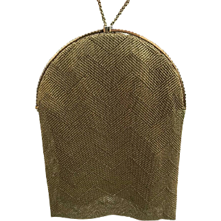 18ct  Gold Van Cleef and Arpels Mesh Evening Purse