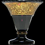 Moser Amethyst Glass Vase c1920