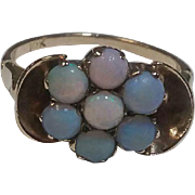 Vintage 10kt  Rose  Gold with a  Beautiful Opal ring