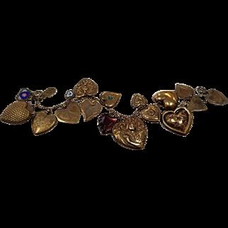 Vintage Pididdly Links Charm Bracelet