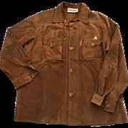 D&G (Dolce & Gabanna) Leather mens coat / jacket size 54