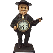 Bradley & Hubbard 'John Bull Blinking Eye' Clock - Mid 20th Century