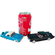 Franklin Mint - Scale 1/43 - Thunderbird and Lincoln Continental (1956) - 1987