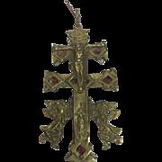 Bronze cross - Russia - 19th century