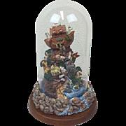 Franklin Mint - Music box ivm Noah's Ark