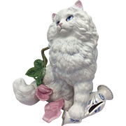 "Franklin Mint - Persian cat ""Michelle"" - Ca. 1980"