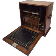 English portable writing lap desk - stationery cabinet - Engeland - Ca. 1920