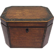 Tea Caddy attributed to Thomas Sheraton (1751-1806) - George III - Approx. 1790