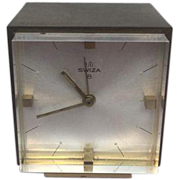 Desk Clock - Swiza - Approx. 1950