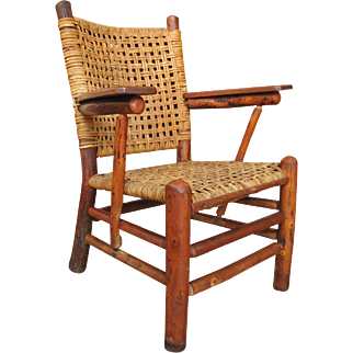 """SUPERB """"Old Hickory"""" Arm Chair  f372"""